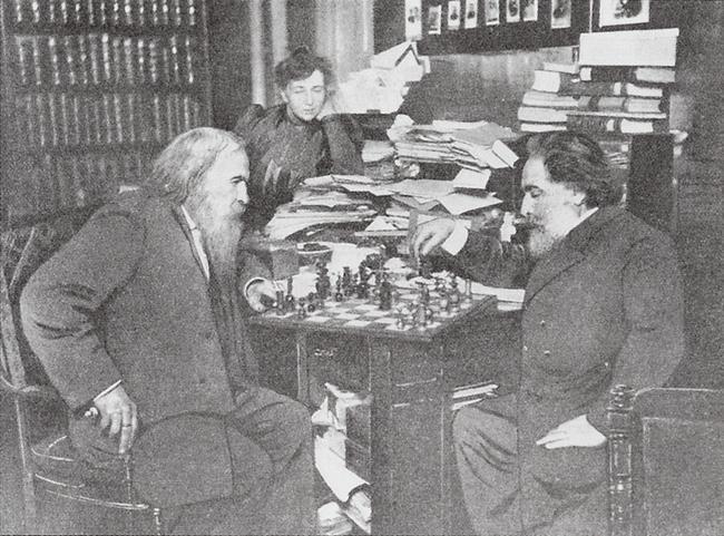 Менделеев и Куинджи